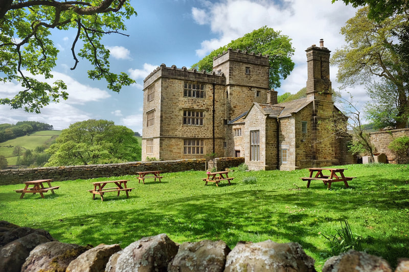 Northlees Hall in the Peak District