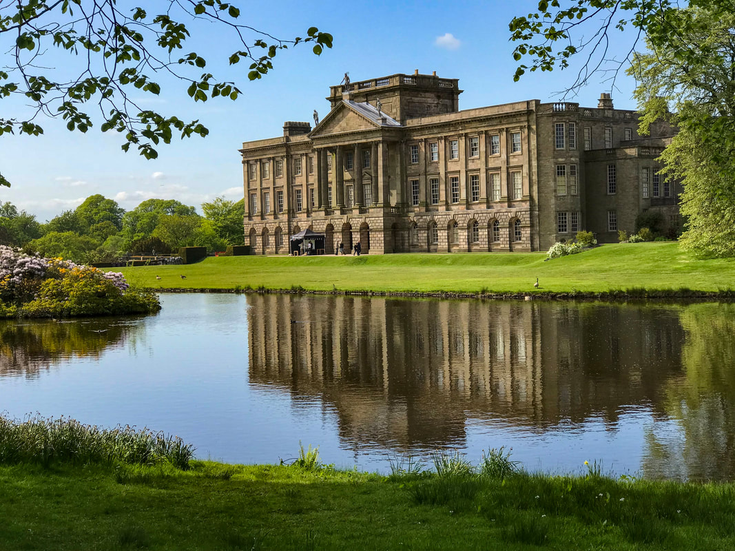 Lyme Park featured as Pemberley in Pride and Prejudice